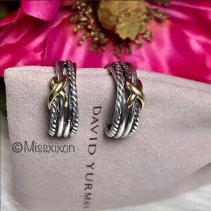 ❤️David Yurman - X Crossover Earrings